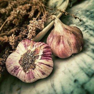 Garlic for sore throat